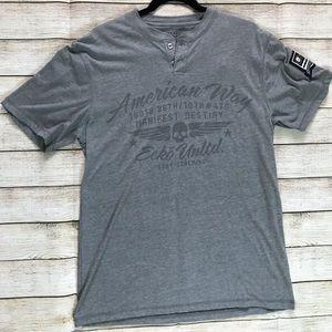 Ecko Unltd Men's American Way Graphic Shirt
